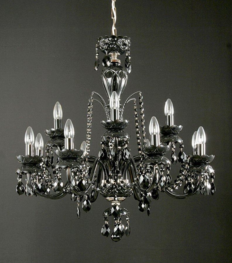 lustres de luxe 12 black. Black Bedroom Furniture Sets. Home Design Ideas