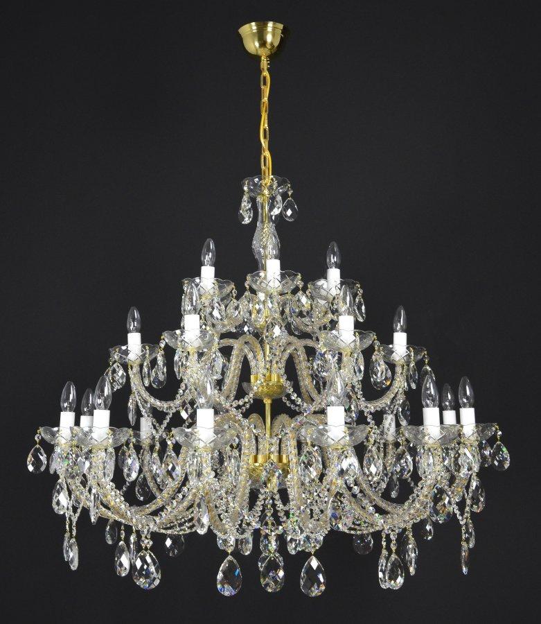 JWZ 114242100 / Finesse 24 Gold - K?iš?álový lustr Finesse 24 & Ceiling lights : Finesse 8 Alpha azcodes.com