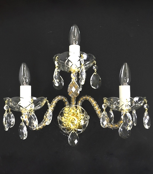 JWN-160032100-Clasico-3-Gold-crystal-wall-sconce-applique-cristal