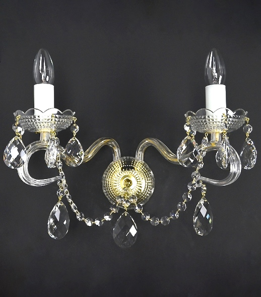 Diamant 2 - Crystal Wall Sconce